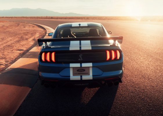 Ford Mustang Shelby GT500 - Heckansicht