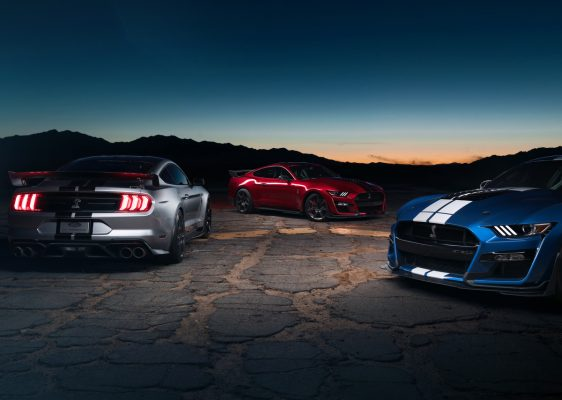 Ford Mustang Shelby GT500 - Im Dreierpack