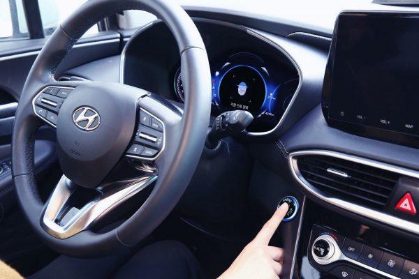Keyless mit Fingerprint bei Hyundai