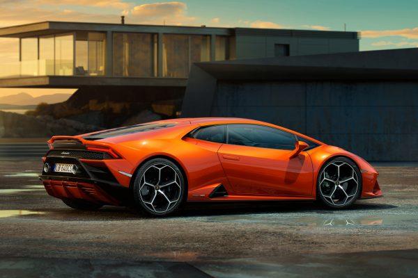 Lamborghini Huracan Evo Seite