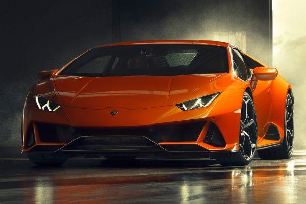 Lamborghini Huracan Evo schräg vorne