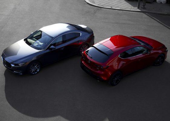 Mazda 3 im Doppelpack