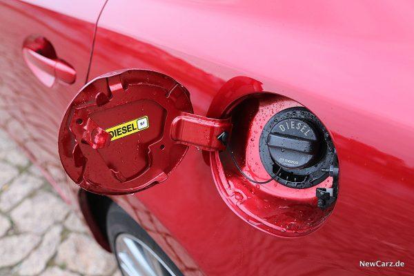 Mazda6 2019 Tankstutzen