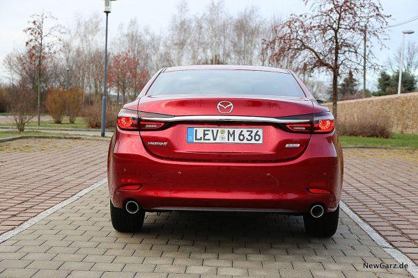 Mazda6 2019 Heck