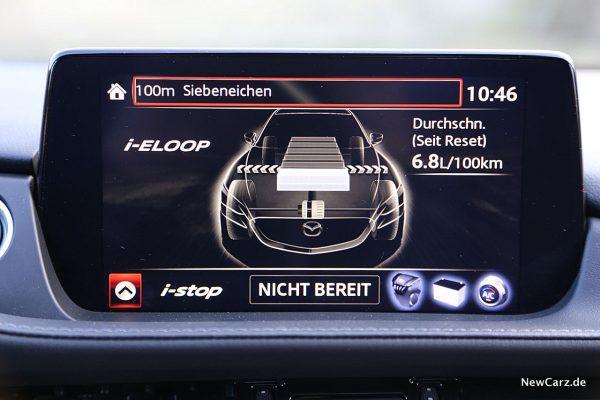 Mazda6 2019 Verbrauchsmonitor