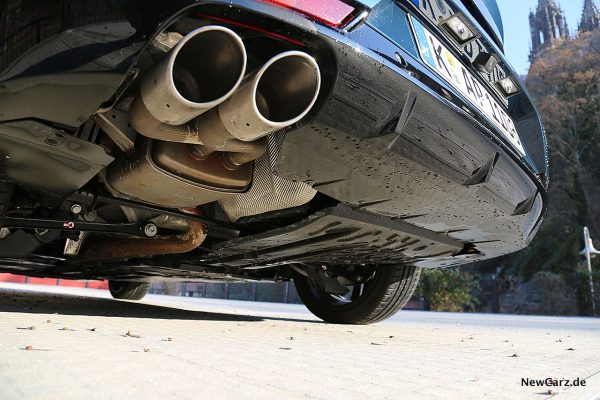 Peugeot 508 GT Endrohre