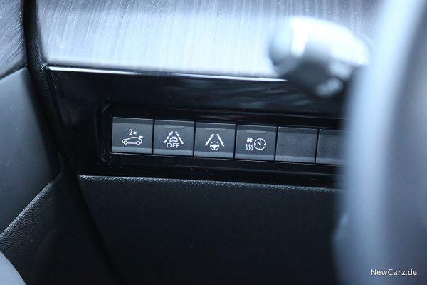 Peugeot 508 GT Assistenzbedienungen