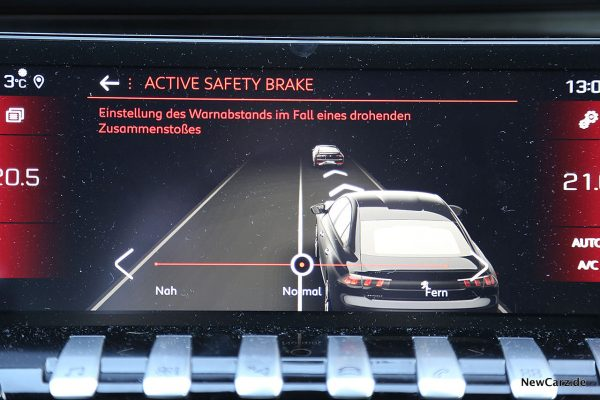 Peugeot 508 GT Active Safety Brake
