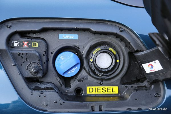 Peugeot 508 GT Tankstutzen