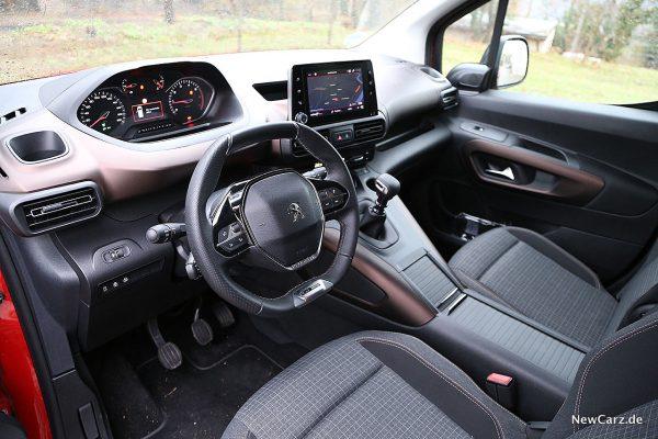 Peugeot Rifter Interieur vorne