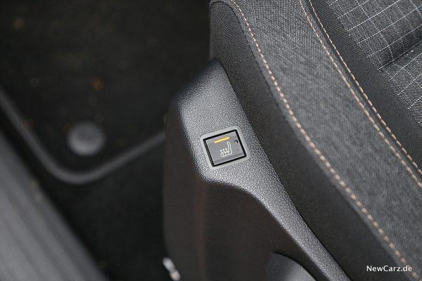 Peugeot Rifter Sitzheizung Fahrer