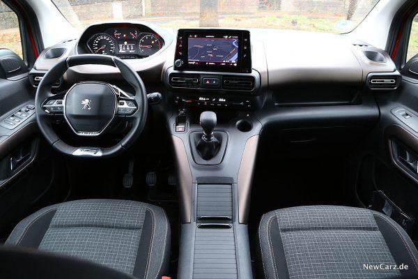 Peugeot Rifter Instrumententafel