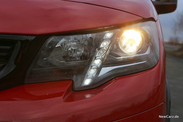 Peugeot Rifter Scheinwerfer