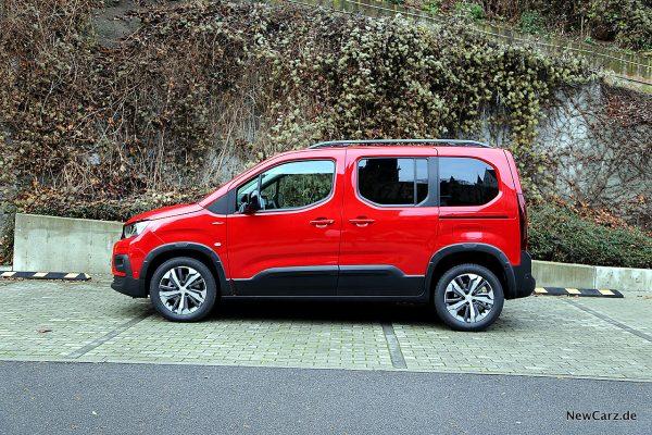 Peugeot Rifter Seite