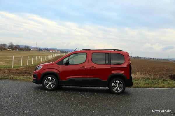 Peugeot Rifter Seitenansicht