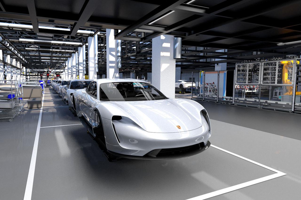 Porsche Taycan Soll Ab 90 000 Dollar Kosten Newcarz De