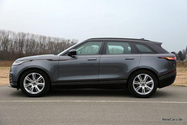 Range Rover Velar Seite