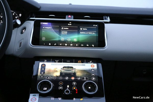 Range Rover Velar Touch Pro Duo