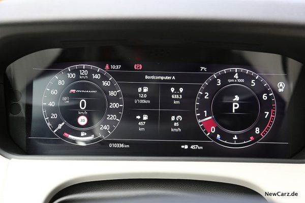 Range Rover Velar Verbrauch