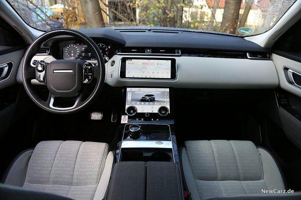 Range Rover Velar Instrumententafel