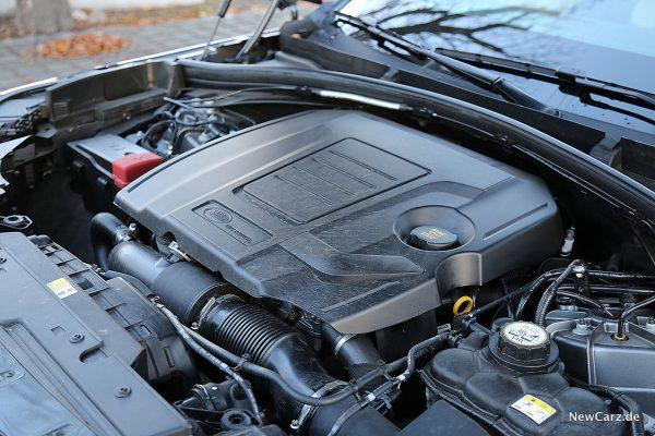 Range Rover Velar Motorraum