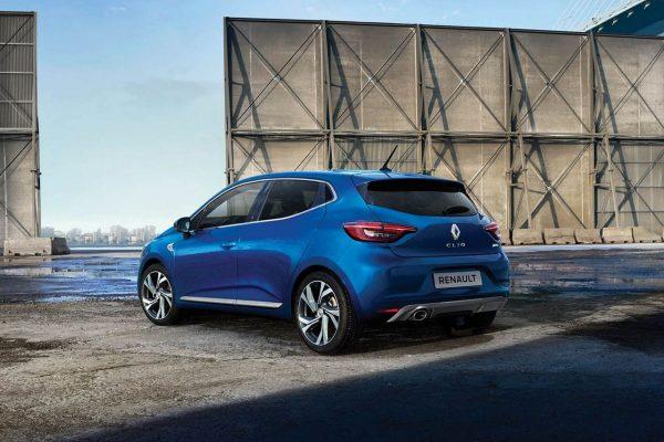 Renault Clio 2019 schräg hinten