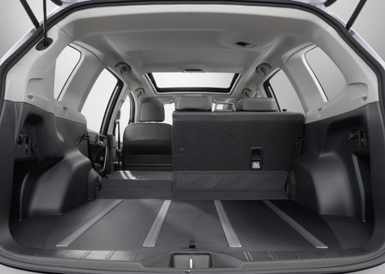 Kofferraum des Subaru Forester
