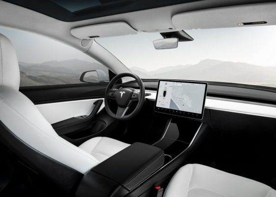 Tesla Model 3 Performance - Interieur