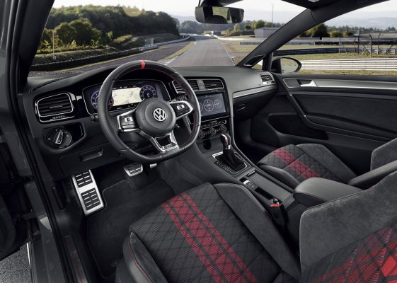 Interieur des VW Golf GTI TCR