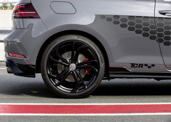 Wabendekor-Folie des VW Golf GTI TCR