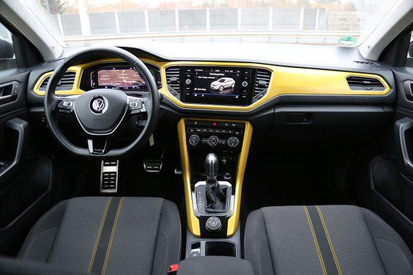 VW T-Roc Armaturenträger