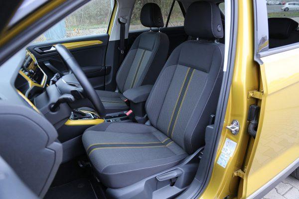 VW T-Roc Sitze vorne