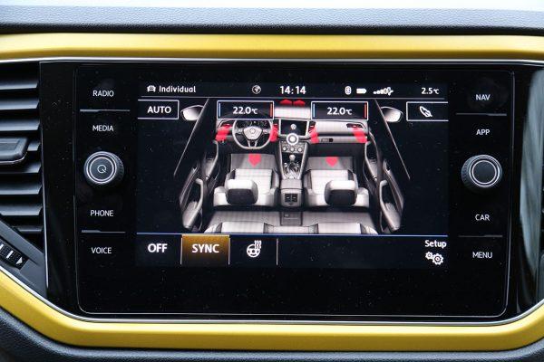 VW T-Roc Klima