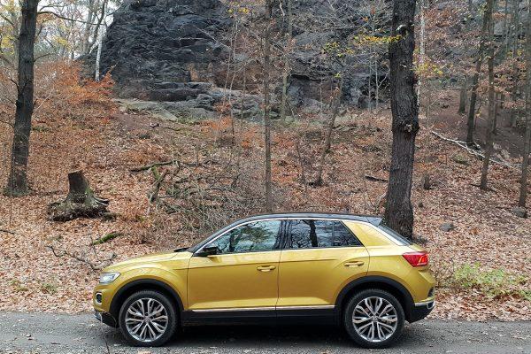 VW T-Roc Seitenperspektive