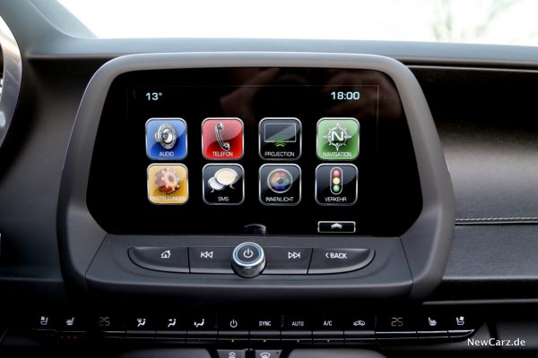 Chevrolet Camaro Cabriolet Touchscreen