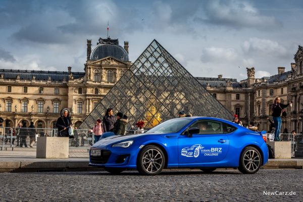 Subaru BRZ Challenge BRZ blau