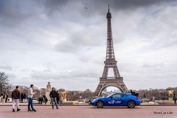 Subaru BRZ Challenge Paris