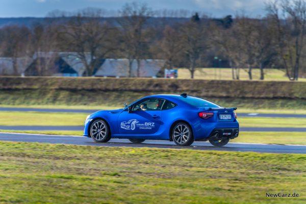 Subaru BRZ Challenge Rennstrecke