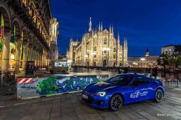 Subaru BRZ Challenge Mailänder Dom