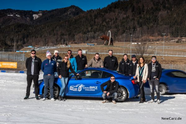Subaru BRZ Challenge Team Gruppe
