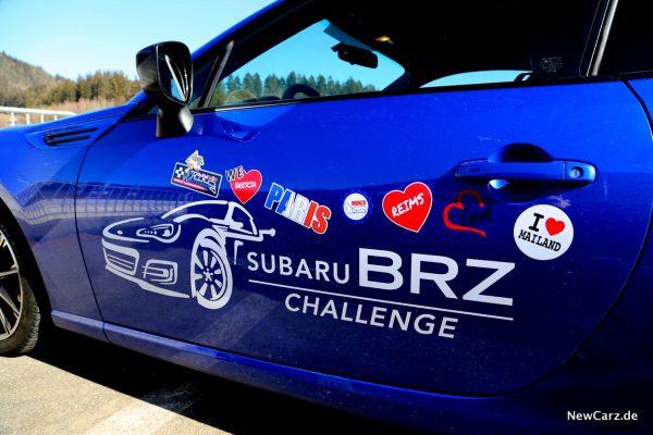 Subaru BRZ Challenge Sticker