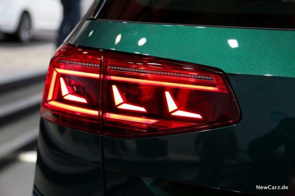 VW Passat Facelift LED Heckleuchte