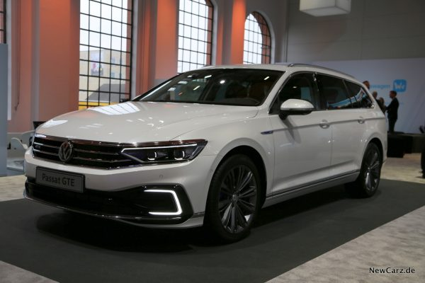 VW Passat Facelift GTE