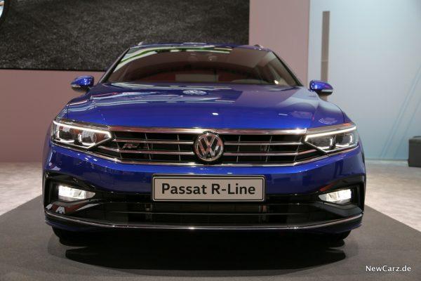 VW Passat Facelift Front