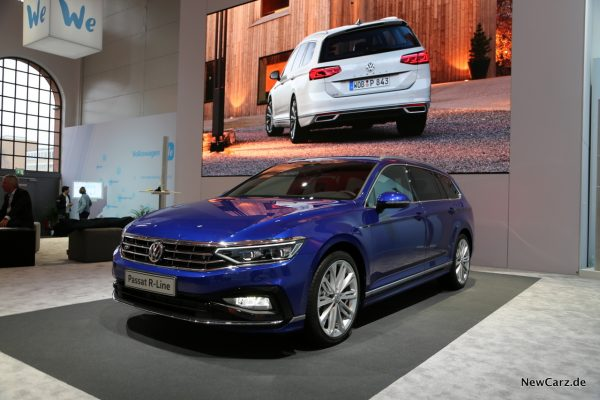 VW Passat Facelift Front seitlich