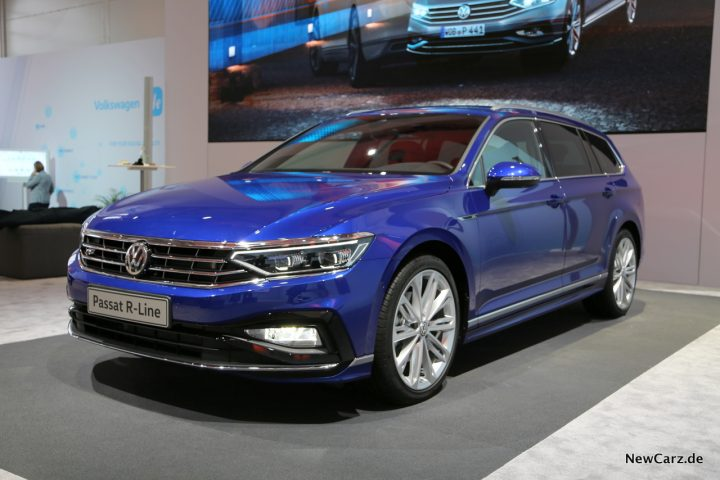 VW Passat Facelift