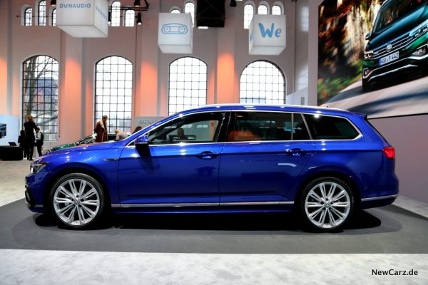 VW Passat Facelift Seite