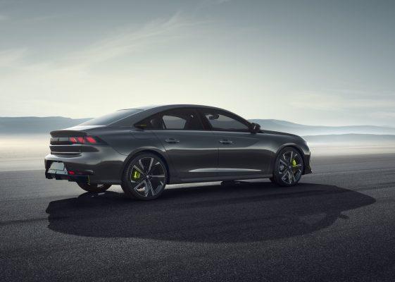 Seitenansicht des Concept 508 Peugeot Sport Engineered Neo-Performance