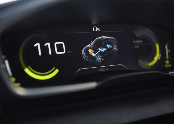 Peugeot i-Cockpit im Concept 508 Peugeot Sport Engineered Neo-Performance