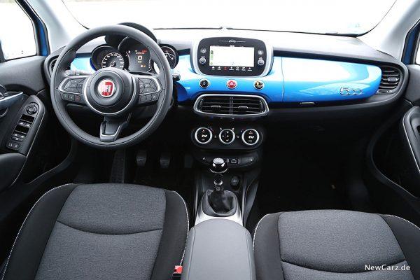 Fiat 500X Urban Instrumententafel